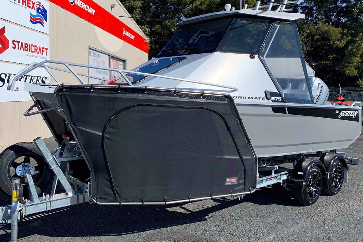 D-Flector Boat